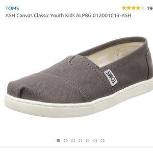 TOMS kids (gray)